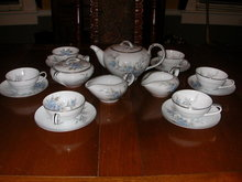 Noritake Pattern #5520 Tea Service For 6--18 Pieces.