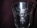 Lenox Castle Garden Water Goblet.