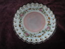 Fenton Glass Louise Piper Hand Painted Plate.