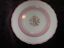Canonsburg Pottery Apple Blossom Plate.
