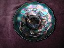 Fenton Vintage Amethyst Carnival Glass Bowl.