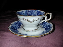 Schumann Heirloom Demitasse Cup and Saucer.
