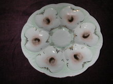 Weimar Porcelain (C. & E. Carstens) Oyster Plate.