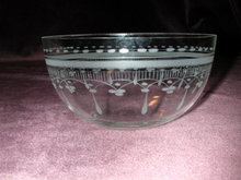 U.S. Glass Tiara Cereal/Grapefruit Bowl.