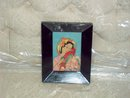 Miniature woodblock print