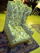 wingback/fireside chair
