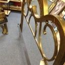 19th Century Ornate Antique Brass Bed