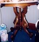 Victorian Oval Center Table