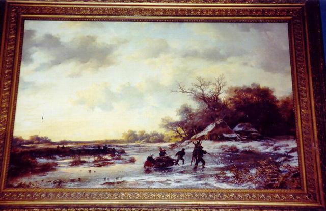 The Fagot Gatherers - Dutch School-19thC