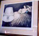 Louis Icart  Dry Point etching