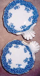 PR. Royal Worcester  shell dishes
