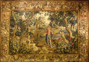 Rare Museum Quality 17th c. Allegorical Tapestry, Bruges