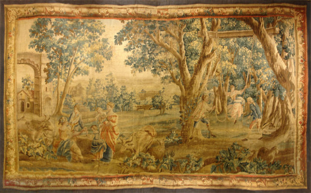 18th c. Beauvais Tapestry
