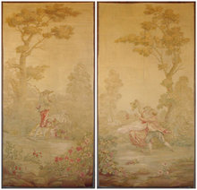 18th Century Beauvais Tapestry (A Pair)