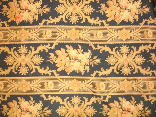 Printed 18th Century English Fabric