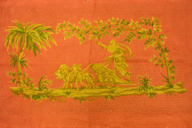 19th Century Needlepoint Bench Cover
