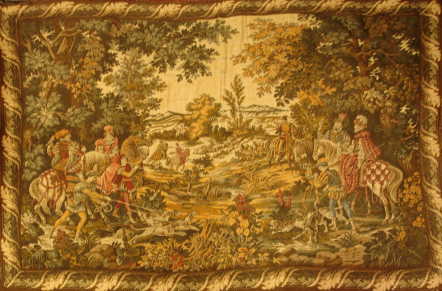 19th Century French Tapestry
