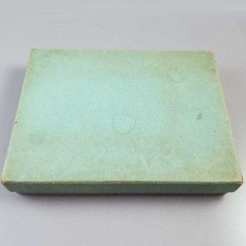 4.1 ounce vintage Art Deco signed Webster sterling silver cigarette case, smoking, tobacciana, business card case, vertical or horizontal