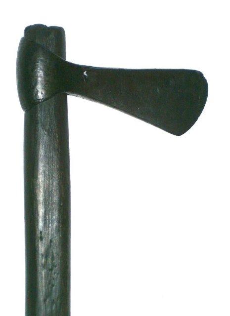 A Viking axe - Central Europe - X Century