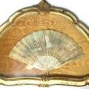 A french painted and mother of pearl wedding feast fan circa 1750