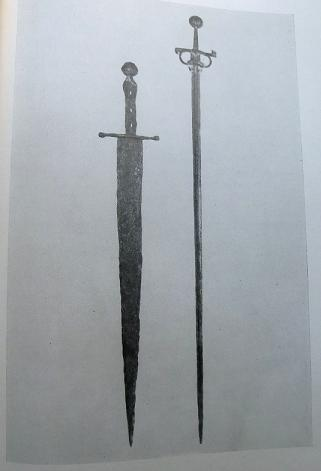 A rare italian medieval hand and half sword first half of XV century