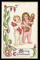 Tucks Christmas Children 1913 Postcard