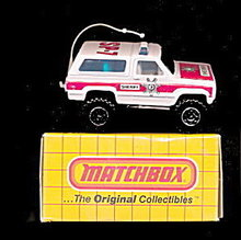 Matchbox #50 1983 Chevy Blazer Mint in Box