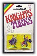 BRITAINS Knights & Turks Mint in Pkg - 1970s