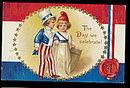 Ellen Clapsaddle July 4th Children 1907 Postcard
