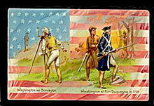 Tucks George Washington's Birthday 1908 Postcard