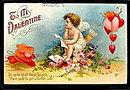Ellen Clapsaddle Valentine's Day 1910 Postcard