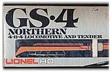 Lionel 4454 Train GS-4 Northern 4-8-4 Locomotive in Box