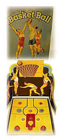 All-Star 1930s Basketball Game