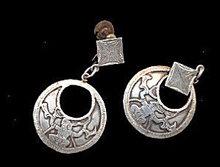 Lovely Sterling Silver Dangle Earrings
