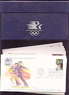 Franklin Mint 1984 Olympics First Day 24 Cover Set