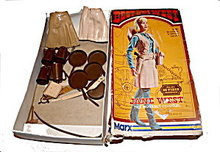 1960s Cowgirl Marx Jane West Doll &  Accessories in Box