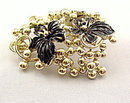 Sarah Coventry 1960s 'Golden Cluster' Brooch