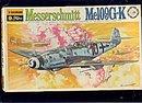 Bachmann Messerschmitt Me109G-K WWII Fighter Model Kit