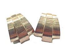 Mexico Sterling Silver .925 Geometric Earrings
