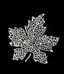 1960s Sarah Coventry 'Silvery Frost' Brooch