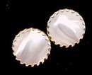1950s Sarah Coventry 'Beauty Button' Earrings