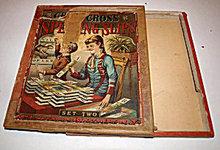 1890s McLoughlin Bros. Spelling Slips Box