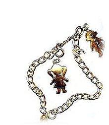 Vintage Park Lane Goldtone Dave & Mich Bracelet