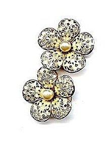 Lovely Alexander Fifth Ave Clip Earrings - Vintage