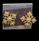 Liz Claiborne Earrings on Card