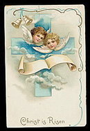 International Arts Easter Angels 1906 Postcard