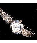 Vintage Silvertone Vivani Swirl Watch