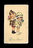 Lovely Early Bonne Ammee Children Postcard