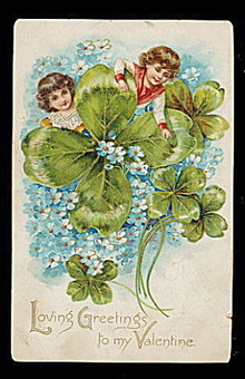 1906 'Loving Greetings to My Valentine' Tucks Postcard