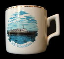 1978 'S/S Volendam' Holland America Ship Coffee Mug